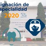 Asignación de Especialidad 2020